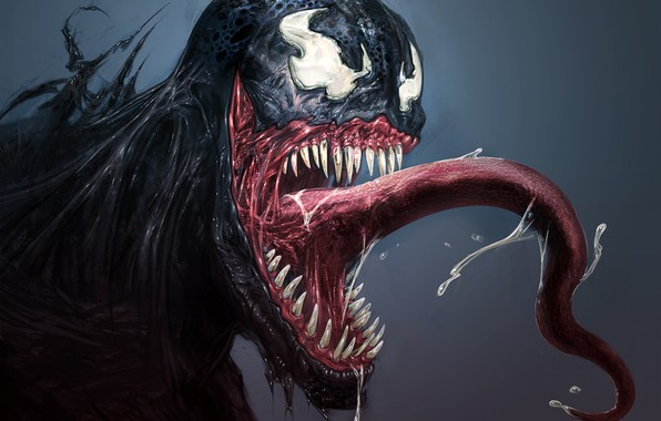 Картинка арт, Marvel Comics, Venom, Eddie Brock