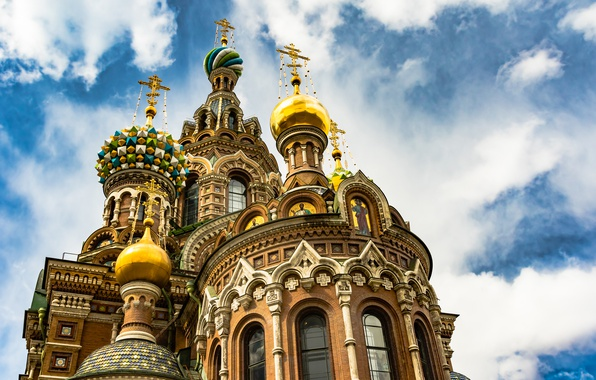 Картинка Санкт-Петербург, храм, Спас на Крови