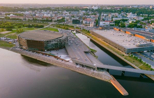 Фото обои Lietuva, Kaunas, Žalgiris Arena