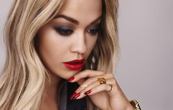 Картинка портрет, певица, Rita Ora