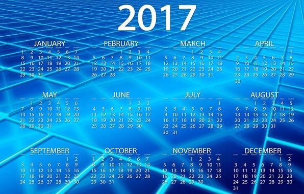 Картинка линии, синий, абстракция, фон, голубой, графика, новый год, вектор, квадраты, цифры, клетки, календарь, год, дата, …