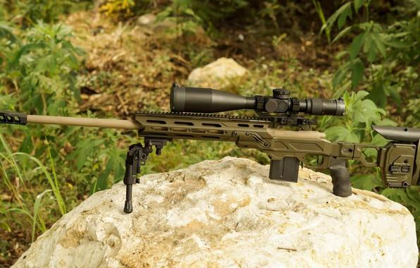 Картинка оружие, weapon, sniper rifle, Remington MSR, снайперкая винтовка, Ремингтон МСР