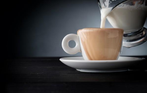 Картинка кофе, молоко, кружка, чашка