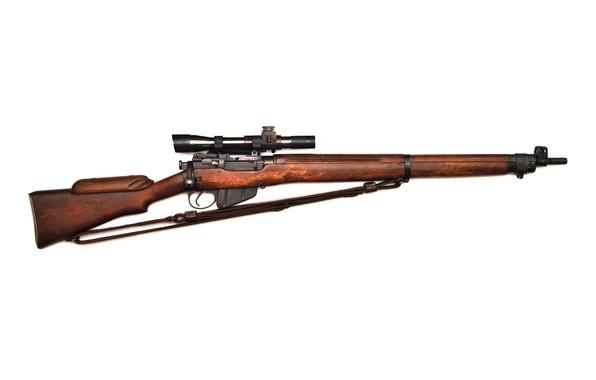 Картинка винтовка, Lee-Enfield, No4T