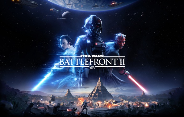 Картинка Star Wars, Game, Electronic Arts, 2017, EA, Star Wars: Battlefront II, Thevideogamegallery.com