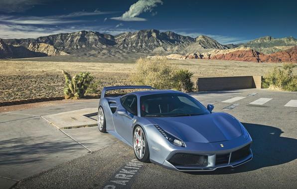 Картинка Ferrari, GTB, SEMA, 488