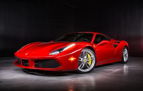 Картинка Ferrari, суперкар, феррари, 488 GTB
