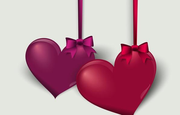 Картинка сердце, графика, вектор, Valentine's Day