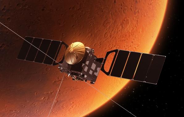 Фото обои сигнал передача данных, орбитальная станция, космос, съемка вселенной, красотища, wallpaper., звездного поля, атмосфера, исследовательский зонд, ...