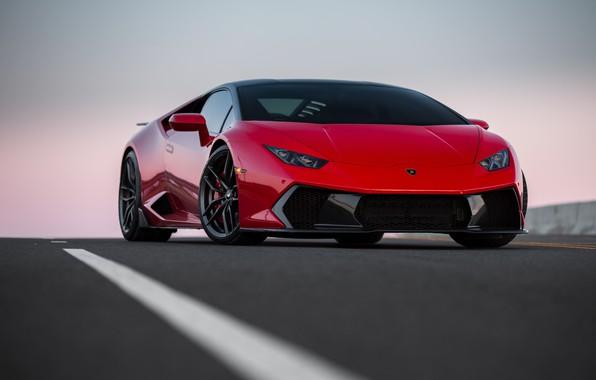 Картинка Lamborghini, Italia, RED, VAG, Huracan, Novara