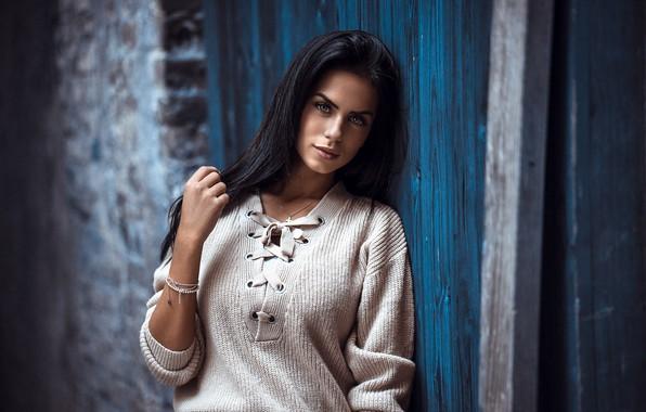Картинка девушка, модель, брюнетка, Marlen Valderrama Alvarez, Anatoli Oskin