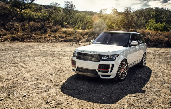 Картинка Land Rover, Range Rover, Vorsteiner, кроссовер, рендж ровер, ланд ровер
