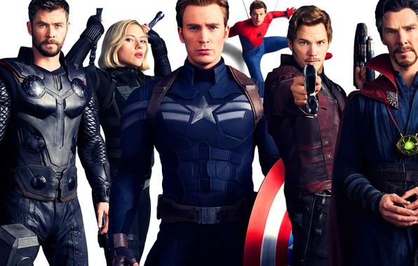 Картинка фантастика, кино, фильм, персонажи, Avengers: Infinity War