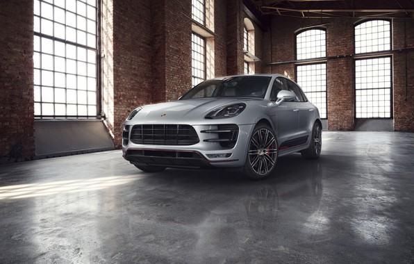 Картинка серый, окна, Porsche, помещение, Macan Turbo, Exclusive Performance Edition