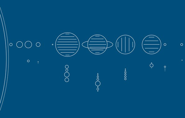 Картинка планеты, схема, солнечная система