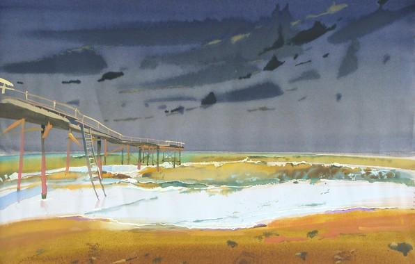 Картинка мост, лестница, Пена, АРУШ ВОЦМУШ, 2026