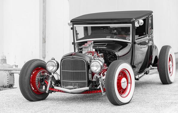Картинка автомобиль, Hot Rod, Хот-род, classic American
