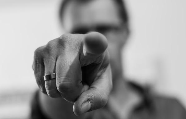 Картинка человек, рука, палец