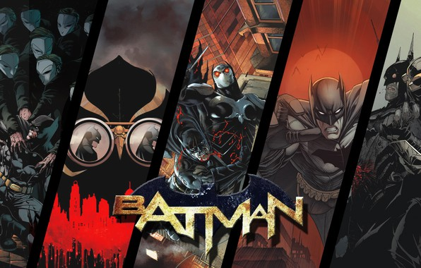 Картинка Бэтмен, Костюм, Герой, Маска, Комикс, Когти, Супергерой, Hero, Batman, Злодей, Брюс Уэйн, DC Comics, Темный …