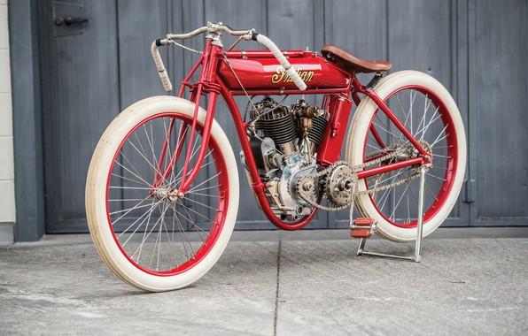 Картинка Ретро, Мотоцикл, Indian