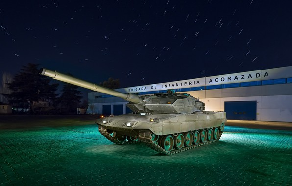 Фото обои танк, Leopard, оружие