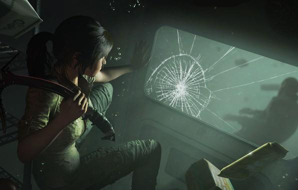 Картинка волосы, Tomb Raider, Лара Крофт, Shadow of the Tomb Raider