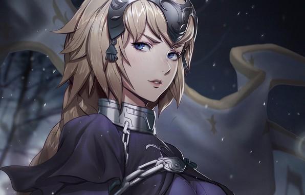 Картинка взгляд, девушка, Fate / Grand Order, Судьба великая кампания