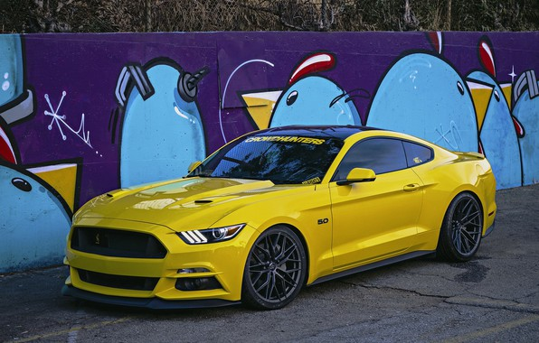 Картинка Mustang, Ford, Wheels, 305FORGED
