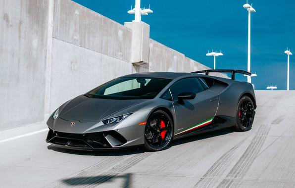 Картинка Lamborghini, Performante, Huracan, 2017
