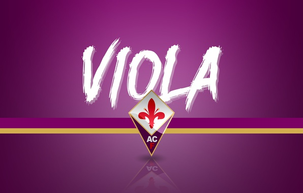 Fiorentina Wallpaper Ipad: Обои Wallpaper, Sport, Logo, Football, Serie A, Viola