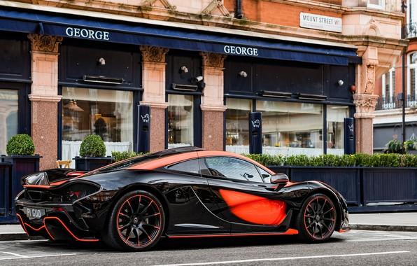 Картинка гиперкар, McLaren P1, MSO, McLaren P1 MSO