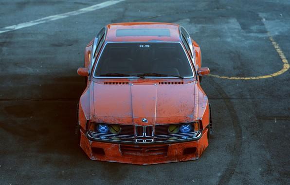 Картинка BMW, Shark, Body, Tuning, Future, E30, Kit, Ligth, by Khyzyl Saleem