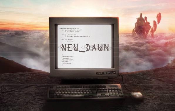Картинка Music, Cover, Monstercat, Bad Computer, New Dawn