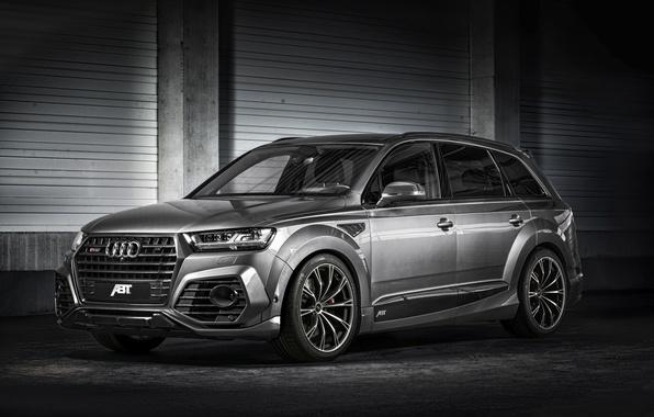 Картинка Audi, ауди, quattro, ABT, универсал, SQ7