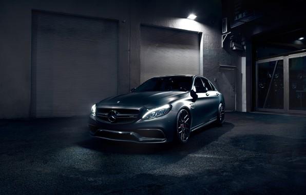 Картинка Light, Mercedes, AMG, Evening, C63, W205