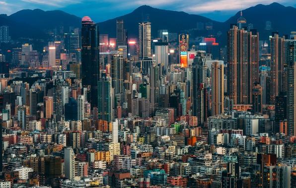 Фото обои Hong Kong, So Uk, Sham Shui Po