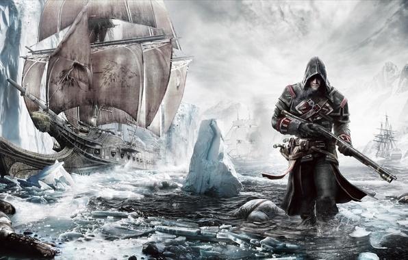 Картинка Ubisoft, Game, Шэй Патрик Кормак, Assassin's Creed: Rogue