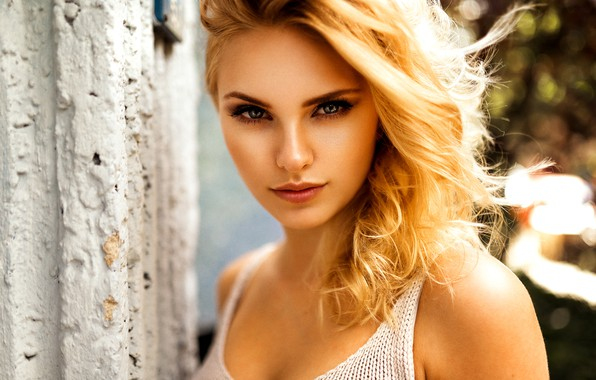 Картинка girl, look, blonde, Miro Hofmann, Carla Sonre