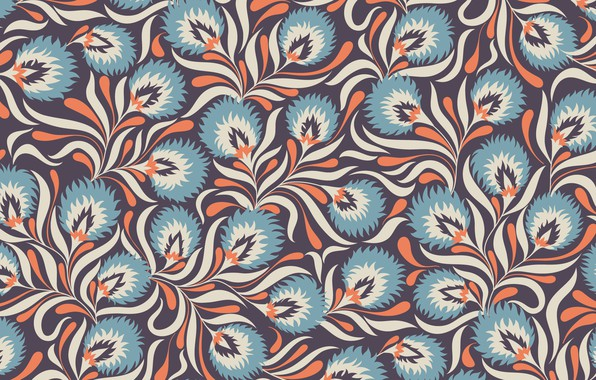 Картинка голубой, узор, текстура