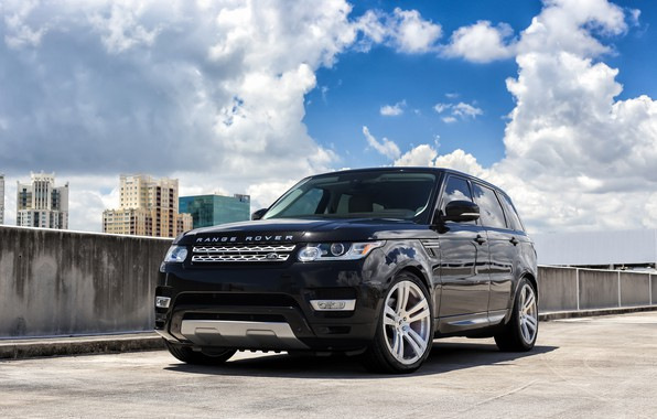 Картинка Range Rover, Sport, Wheels, Land rover, Forgiato