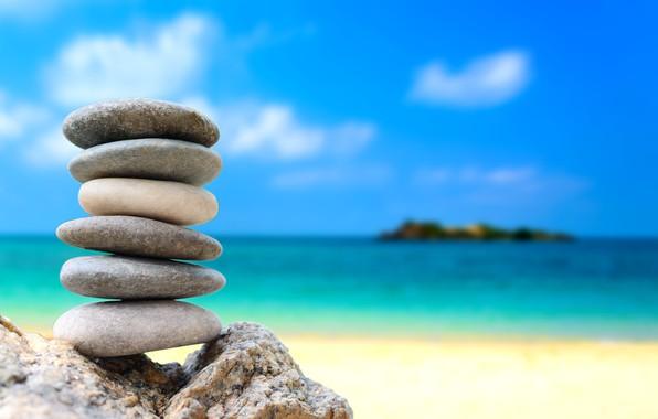 Картинка море, пляж, лето, галька, камни, summer, white, beach, sea, stones, pebbles