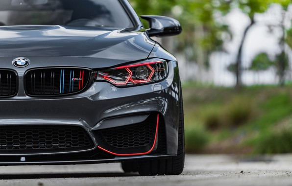 Картинка BMW, Front, Face, Sight, LED, F83, Evel