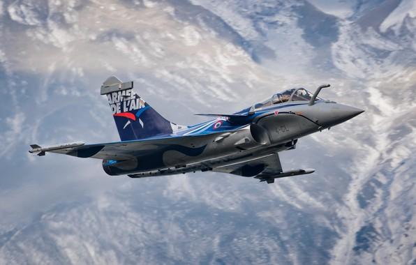 Картинка Dassault Rafale, French Air Force, C 4-GL Alps