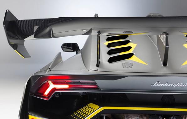 Картинка Lamborghini, фара, гоночное авто, Huracan, Super Trofeo Evo