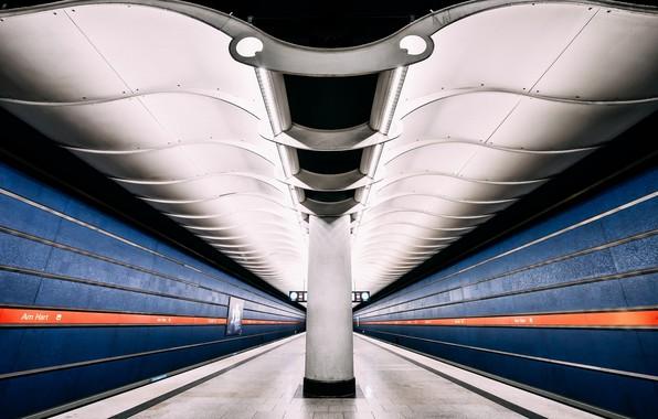 Картинка underground, long exposure, metro station