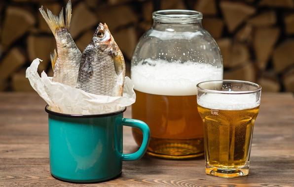Картинка пиво, банка, таранка