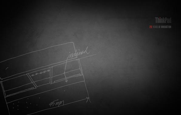 Картинка ноутбук, lenovo, thinkpad