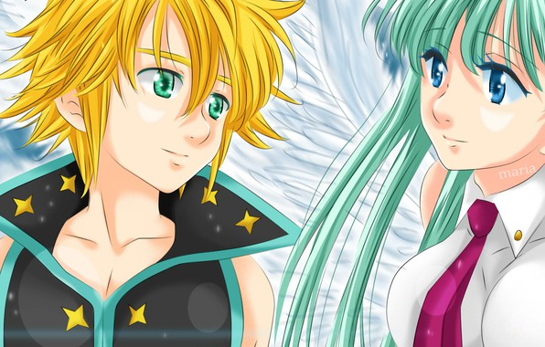 Картинка game, anime, asian, manga, Nanatsu no Taizai, The Seven Deadly Sins, japonese
