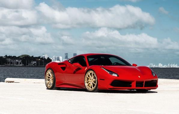 Картинка Ferrari, GTB, 488, ANRKY, AN33