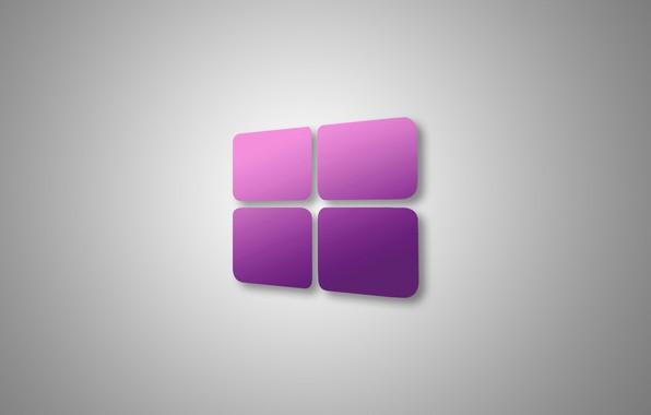 Фото обои компьютер, текстура, логотип, окно, операционная система, windows 10